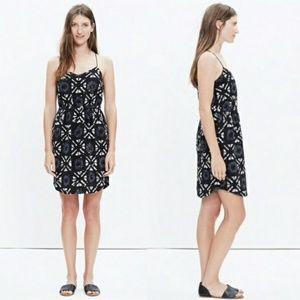 Madewell Starview batik Silk Cami Dress.
